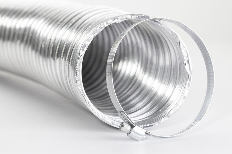how to install a gas dryer vent
