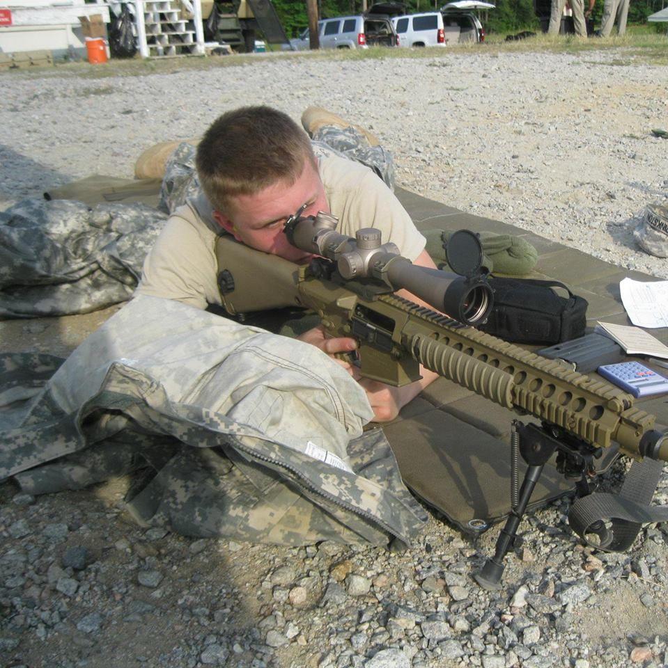 Firing the M110 #M110