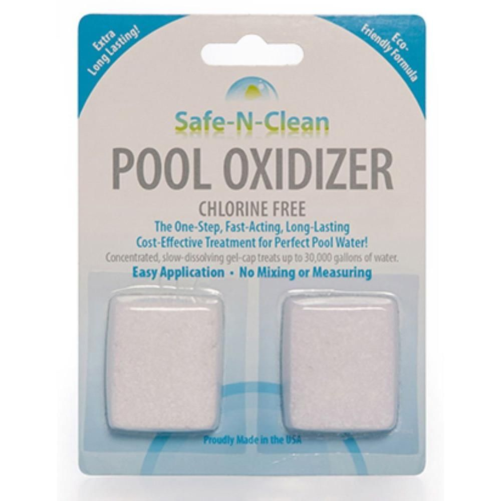 Safe N Clean Pool Oxidizer Nco 1 The Home Depot Pool Cleaning Swimming Pool Chemicals Pool Chemicals