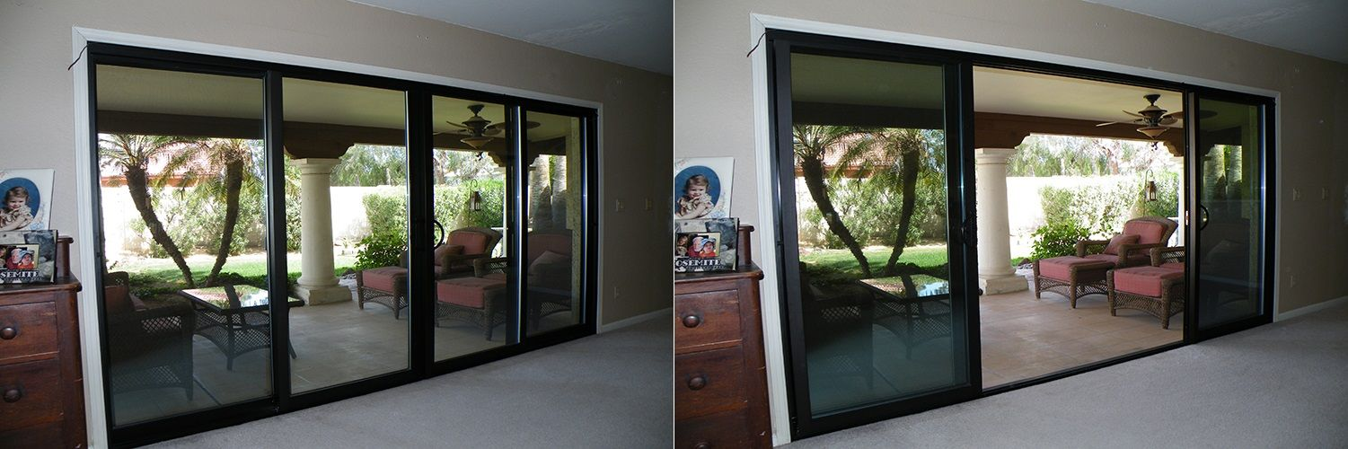 All Aluminum Light Commercial Oxxo Sliding Patio Door Done By