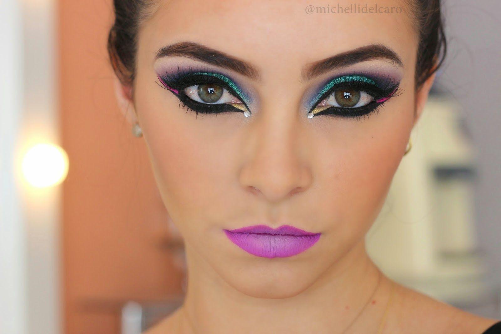 Michelli Make Up: Maquiagem Carnaval 2015
