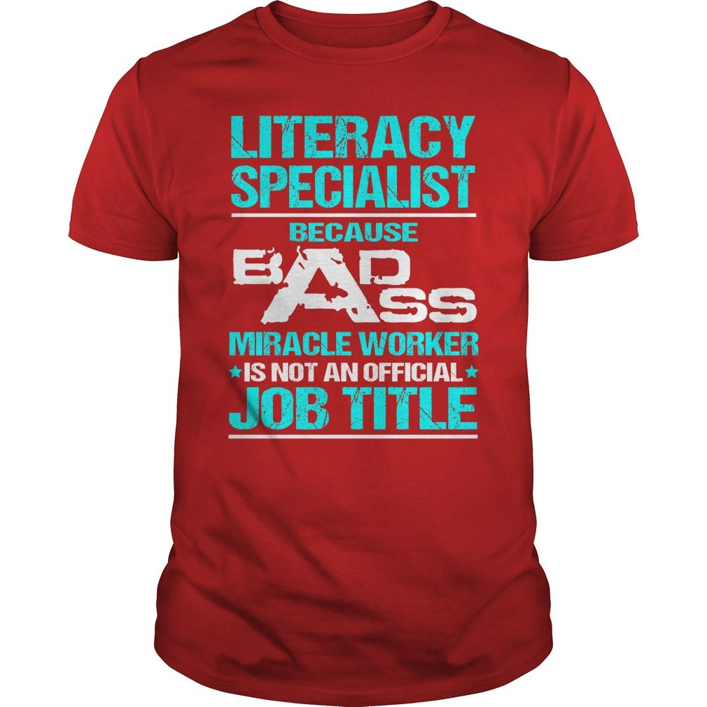 Awesome tee for literacy specialist tshirts hoodies