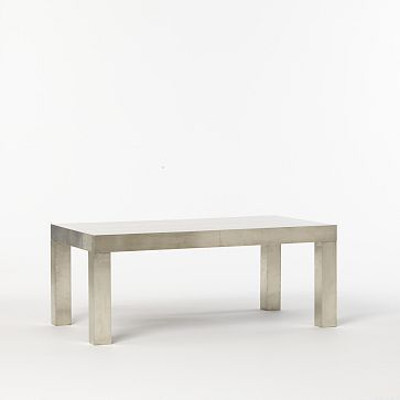 $359 $449 Parsons Rectangular Coffee Table Wrapped Metal
