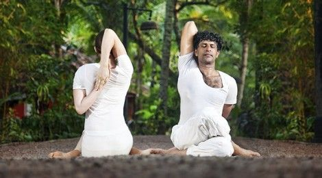 cow face pose gomukhasana  yoga classes in milton keynes