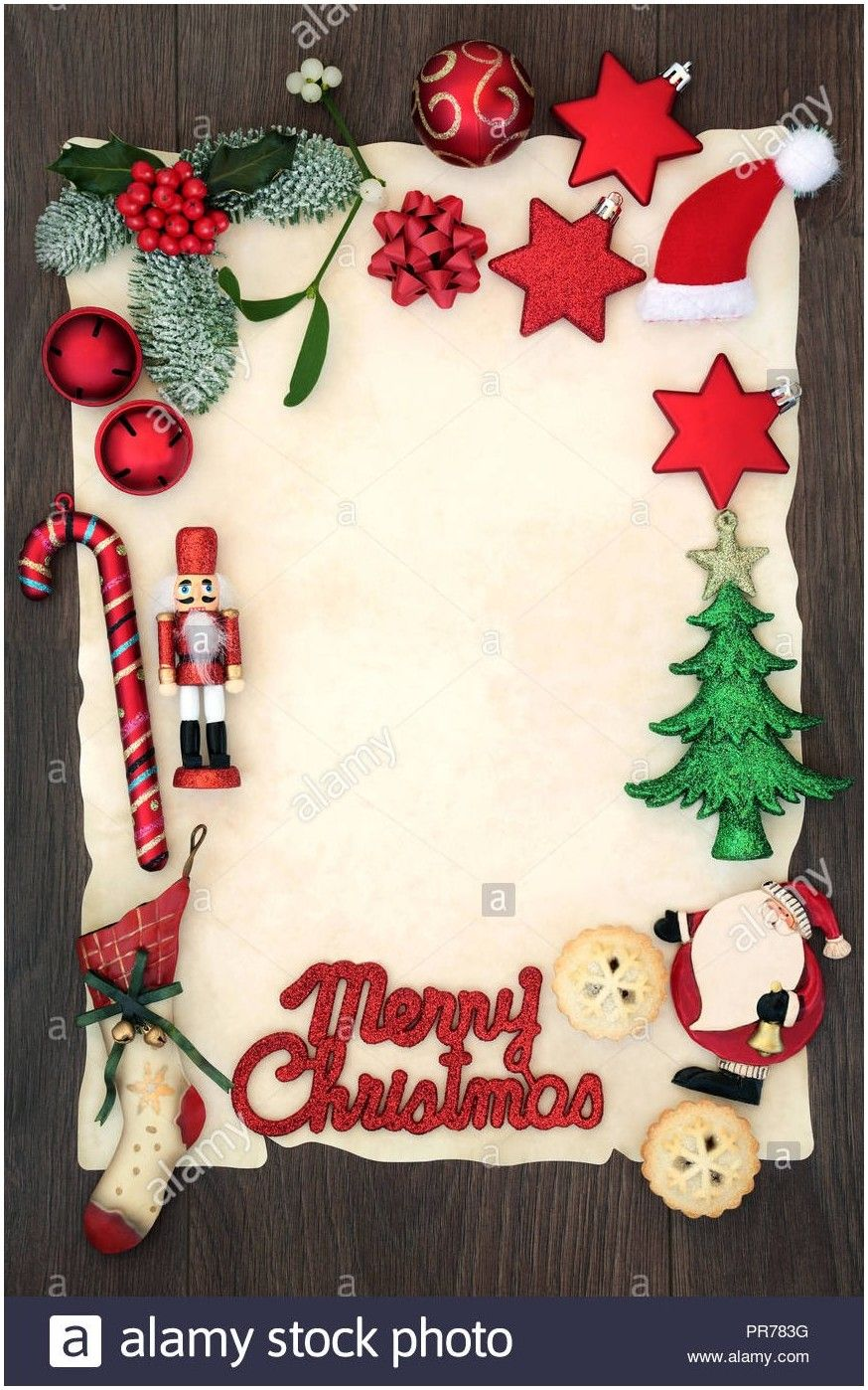 Christmas Border Paper Template Christmas Border Cross