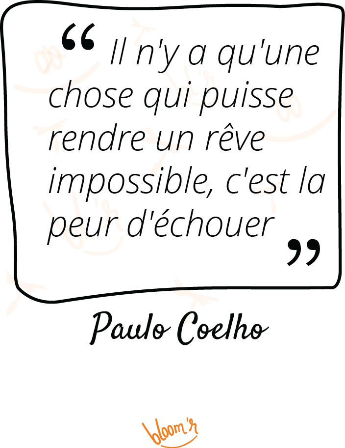 Paroles De Sages Sur Bloomr Citations Echec Reve Coelho Alchimiste Citation Peur Citation Parole