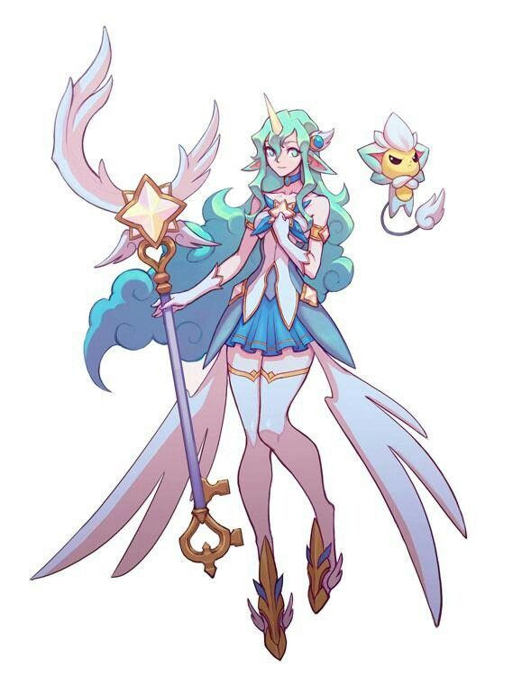Star Guardian Soraka Lol League Of Legends League Of