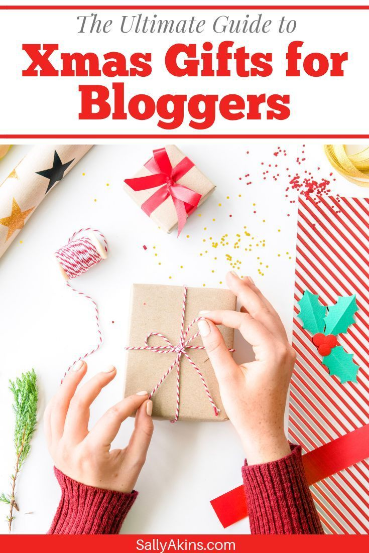 Are you looking for a Christmas gift for a blogger or vlogger? You'll love this gift guide packed full of ideas for the bloggers and vloggers in your life. From books to mugs, and from props to techy gifts, this guide has something to suit all tastes and every budget #Christmas #GiftGuide #Blogging