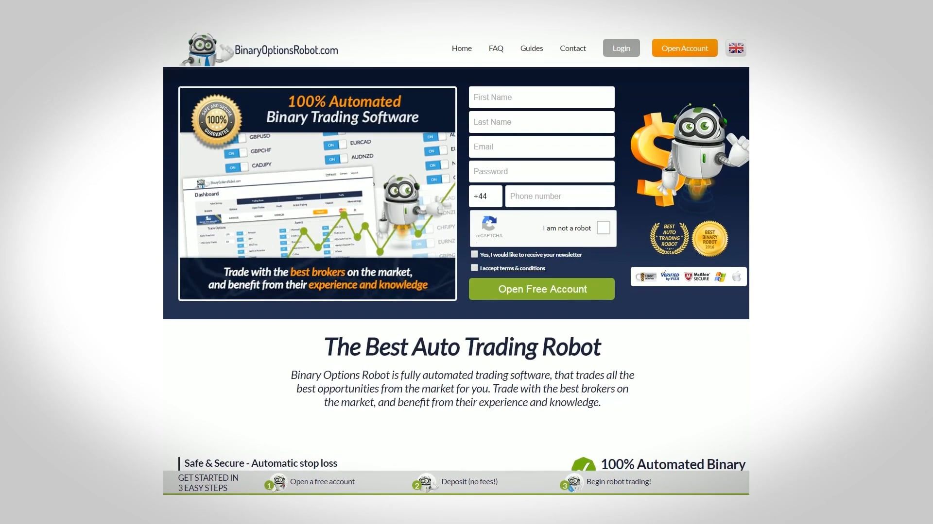 The Best Binary Options Auto Trading Robot Trading Binary Option Trading