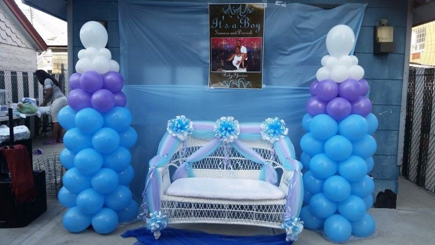 Baby Boy Cradle Decoration With Images