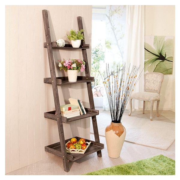 leiterregal modern cottage g nstig online kaufen mein sch ner garten house garden. Black Bedroom Furniture Sets. Home Design Ideas