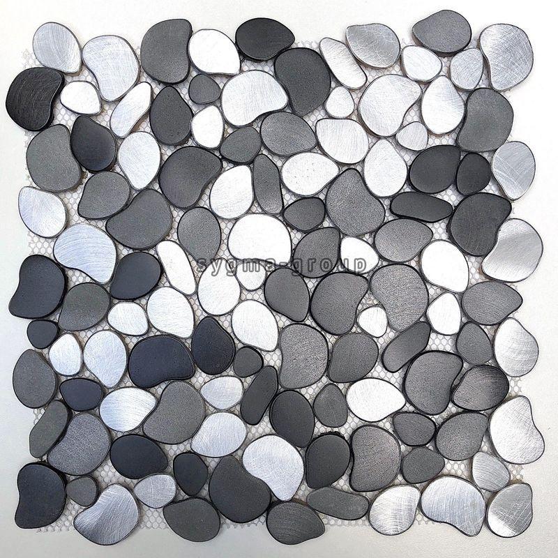 Carrelage Mosaique Sol Galet Douche Italienne Salle De Bain Oceo