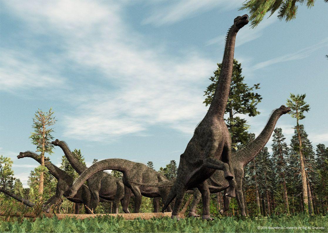гладью брахиозавр фото и описание которых имеют