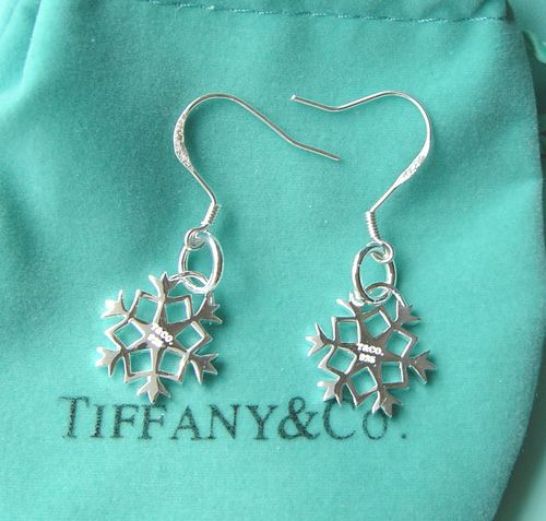 Tiffany Snowflake Earrings