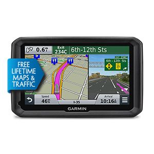Dezl 570lmt Guides With A 5 0 Inch Glass Display And Extra Loud Enhanced Speakers Deliver Clearly Spoken Turn By Turn Maps Traffic Gps Wireless Backup Camera