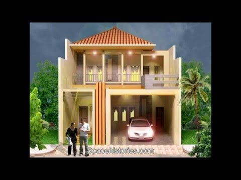 Gaya Rumah Minimalis 2 Lantai type 36 Modern - Sketsa ...