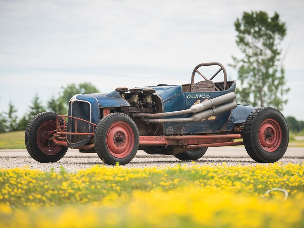 You Can Help This Vintage Dirt Track Hot Rod Race Again | Dirt track
