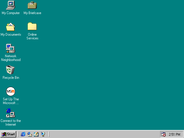 Empty Desktop In Windows 98 Windows 98 Windows Aesthetic Desktop Wallpaper