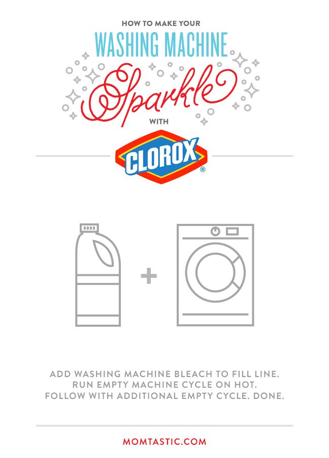 how to use bleach in washing machine