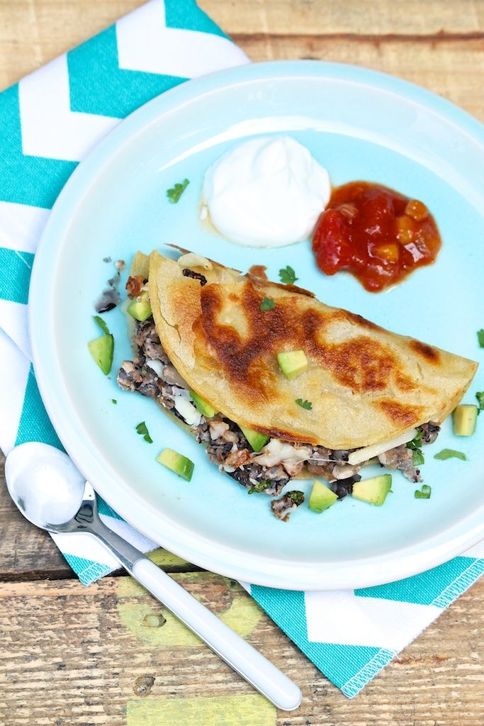 Crispy Black Bean Pan Tacos – The Fountain Avenue