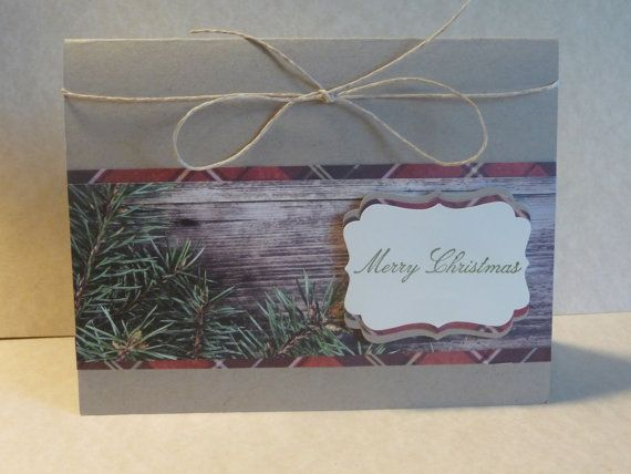 Handmade Stampin'Up Evergreen Christmas by ByHandPaperCutCards