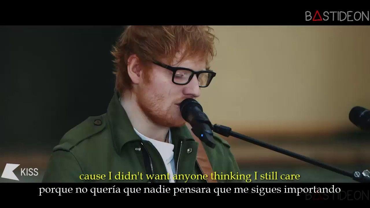 Ed Sheeran Love Yourself Sub Español Lyrics Frases Inspiradoras Ed Sheeran Canciones
