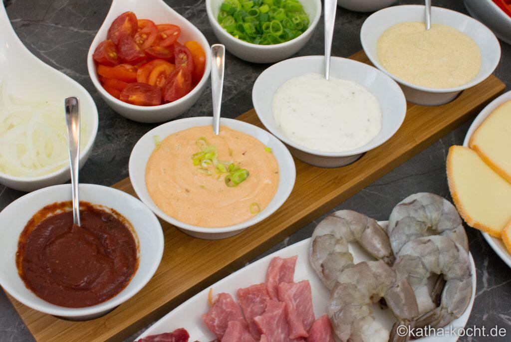 Raclette Saucen und ein paar Ideen - Katha-kocht! #racletteideen