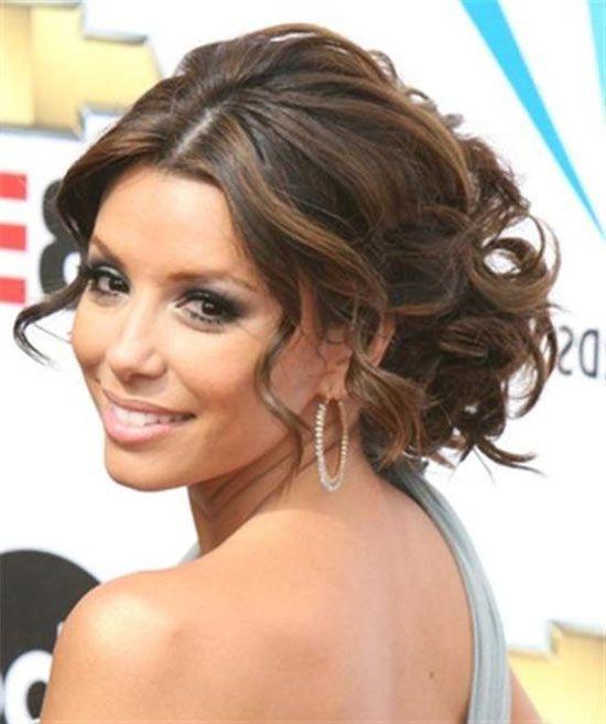 Eva Longoria Wedding Hairstyles For Medium Hair Wedding Hairstyles