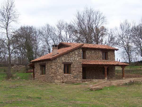 Casas coloniales peque as buscar con google casas for Fachadas de cabanas rusticas
