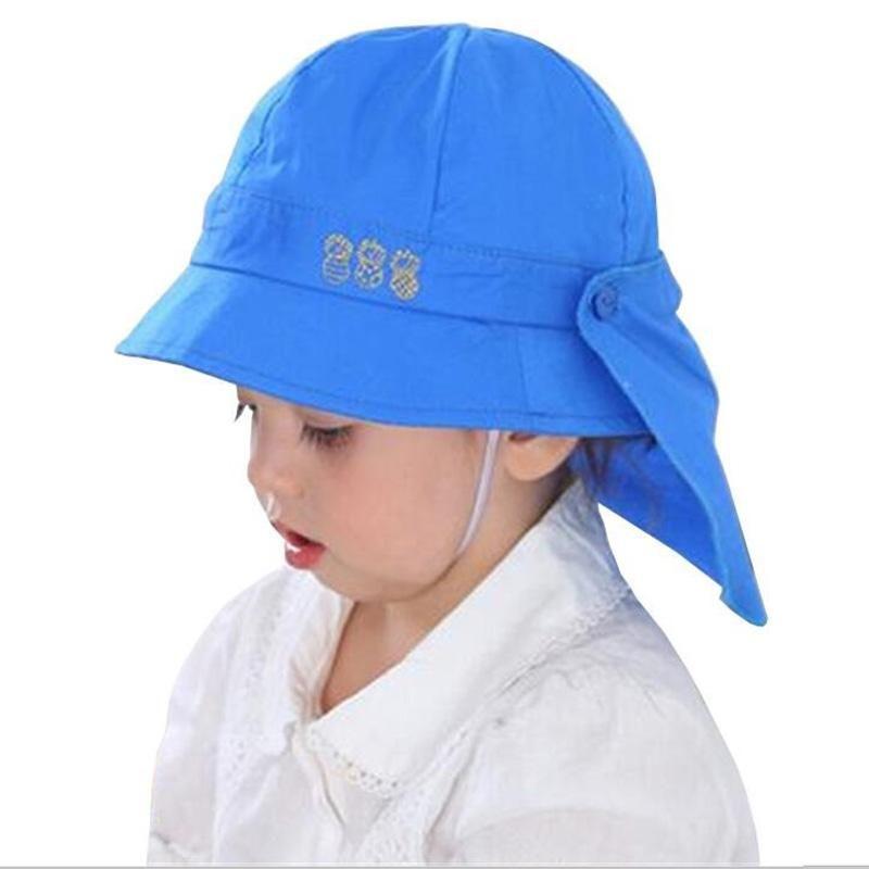 6166314ed35 Baby Hat Summer Boys Sun Hat Toddler Baby Girls Hats Autumn Kids Beach  Bucket Cap