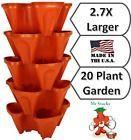 Stackable Planter Pots Vertical Gardening Plant Care Yard Garden Supplies Home #senkrechtangelegtekräutergärten Stackable Planter Pots Vertical Gardening Plant Care Yard Garden Supplies Home #senkrechtangelegtekräutergärten