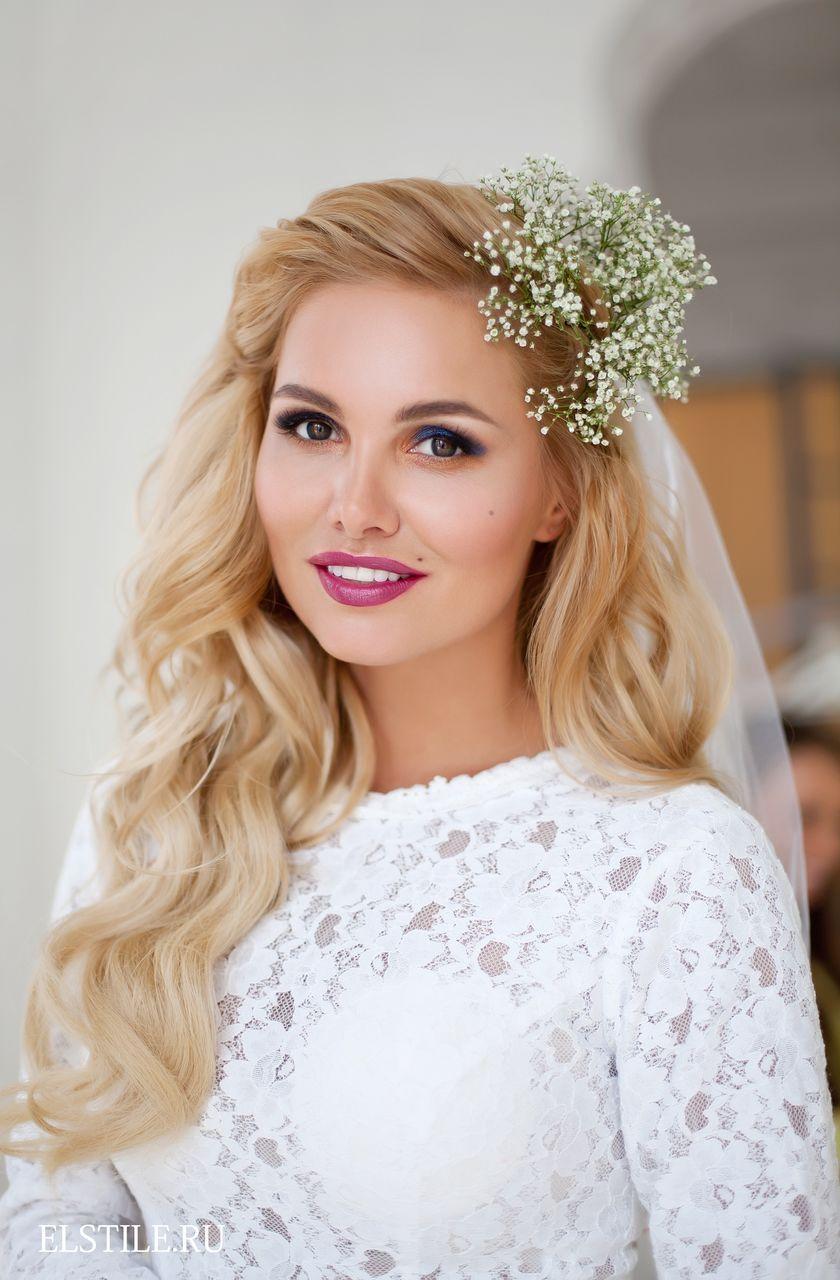 Sensacional peinados con flores en el pelo Galeria De Cortes De Pelo Tendencias - Peinados para novias - ¡llénalos de flores! | Peinados de ...