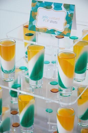 Jello Custard Shots