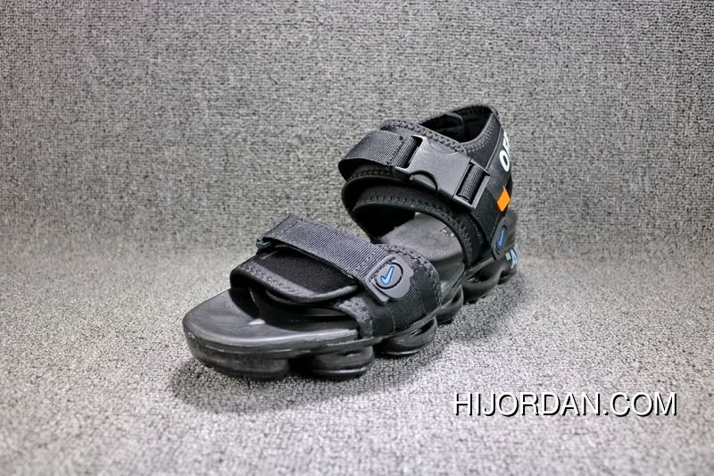 f78fd1d259c085 OFF-WHITE X Nike Air VaporMax Beach Sandals Black 42 850588-001 Copuon