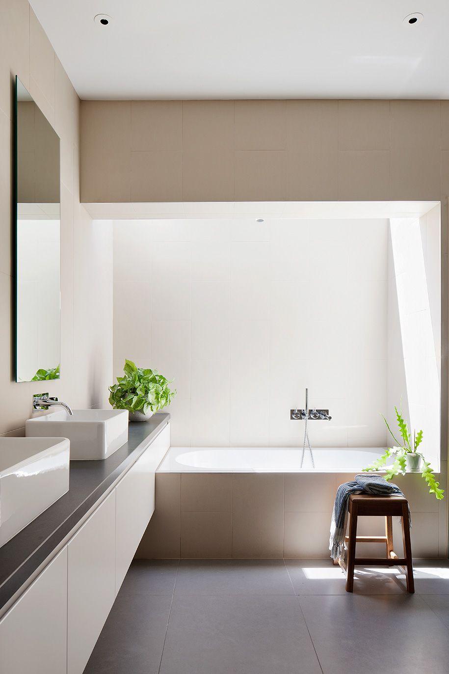 Bathroom Ideas, Modern Contemporary Bathroom, Shower, Jacuzzi ...