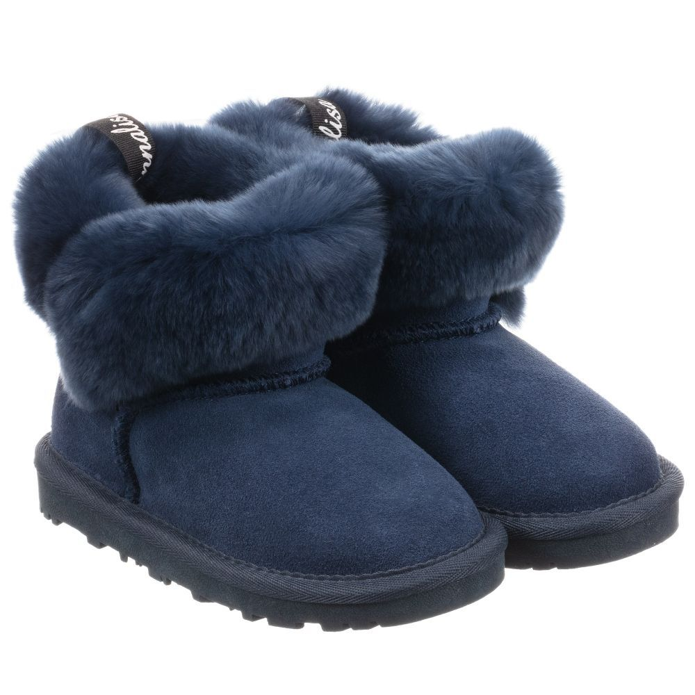 navy blue boots for girls