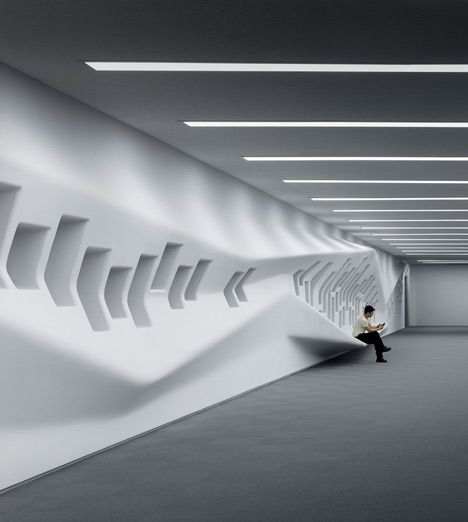 Zaha hadid 39 s dongdaemun design park plaza opens in seoul for Parametric architecture zaha hadid