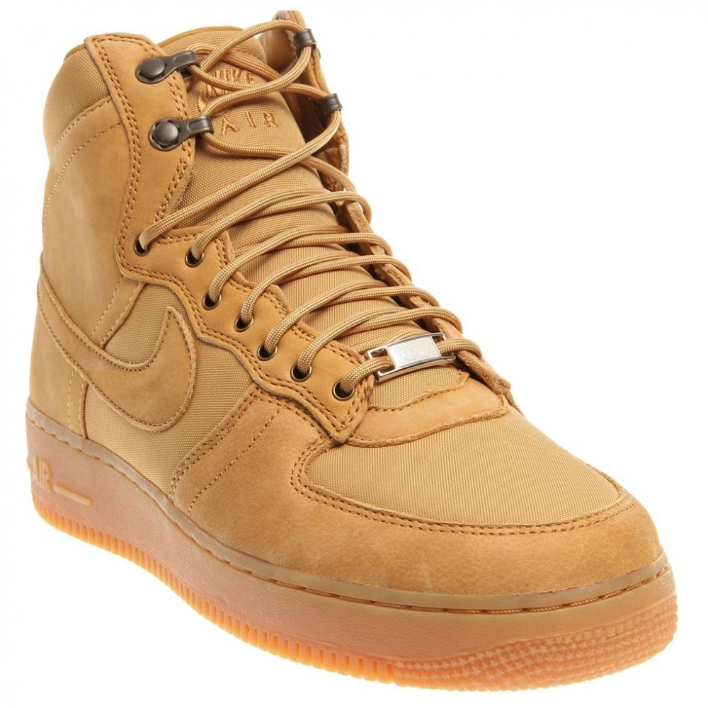 Celebrating 30 Years Of The Nike Air Force 1 These Nike Air Force 1 High Dcn Military Boot Men S Sneakers Offer Rugged Dura Boots Military Boots Sneaker Boots