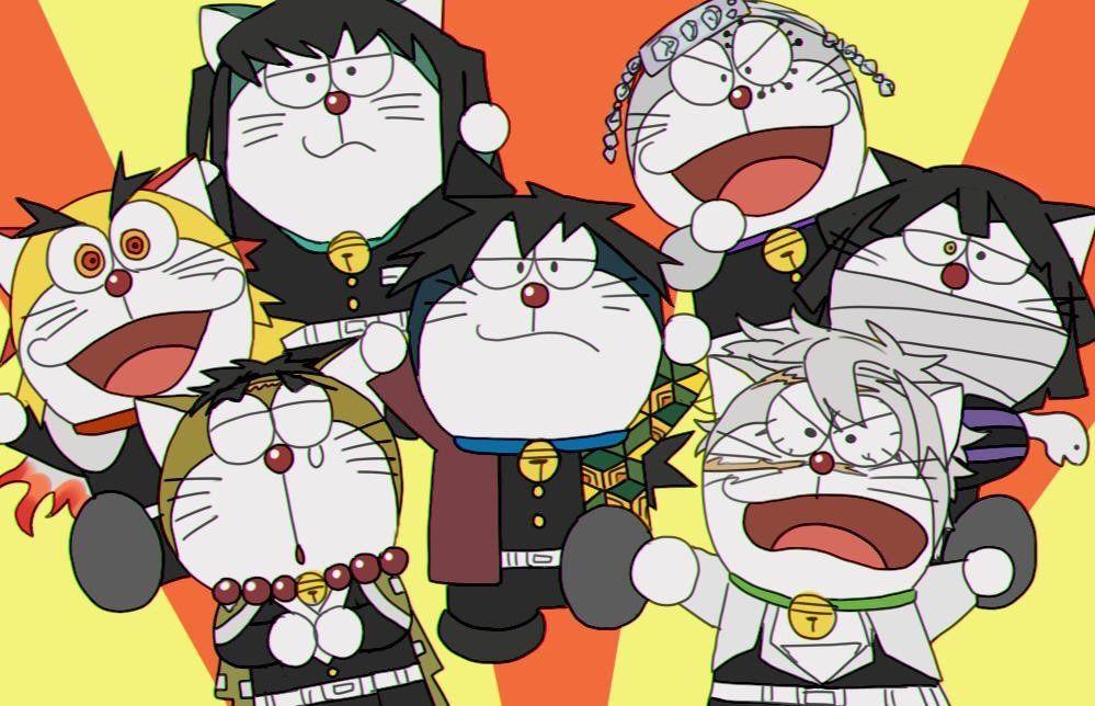 g6 on twitter cute anime wallpaper anime crossover doraemon