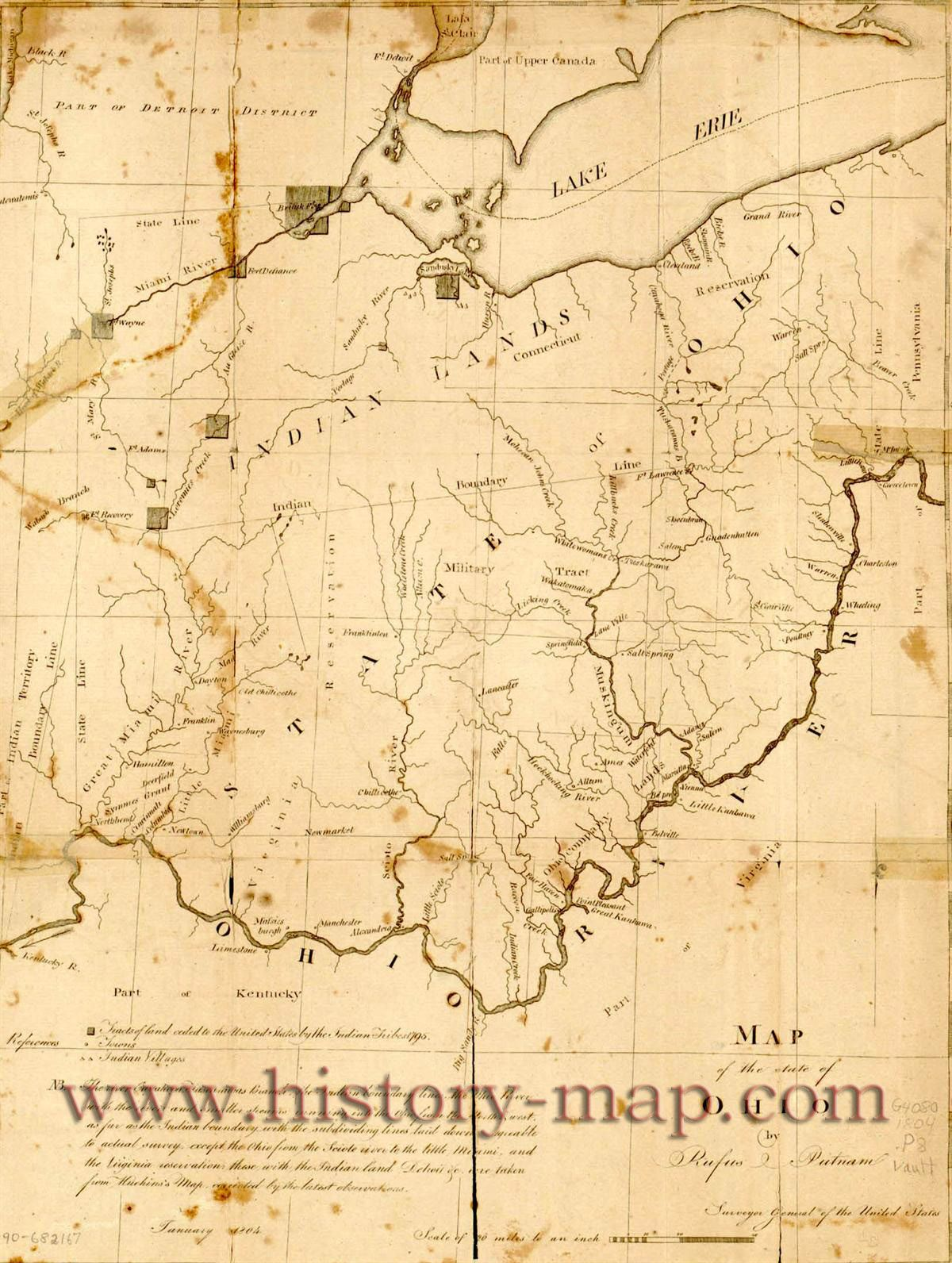 Ohio In Early S Living Room Pinterest Ohio Genealogy - Map usa early 1800s