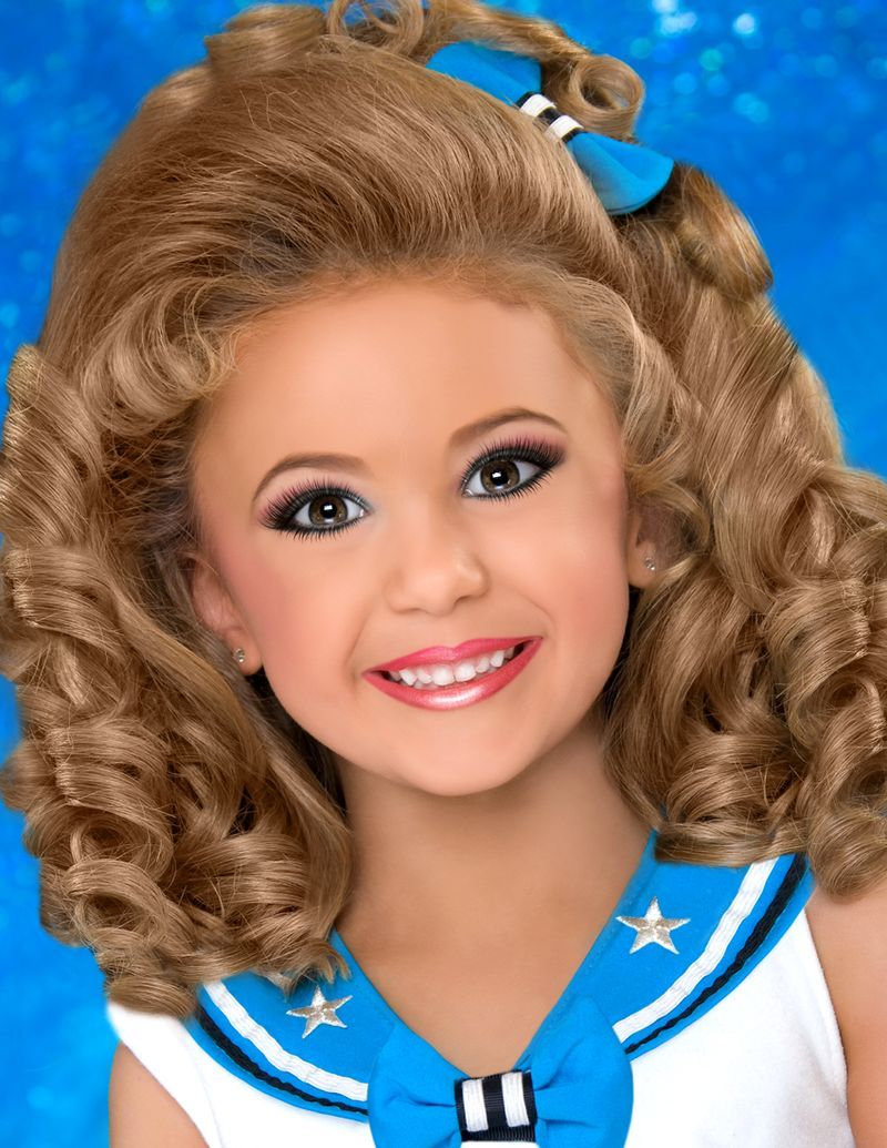 Pageant Hairstyles For Little Girls  Il Miss Princess -9851