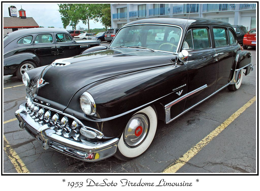 1953 DeSoto Limousine   Car vehicle, Vehicle and Cars