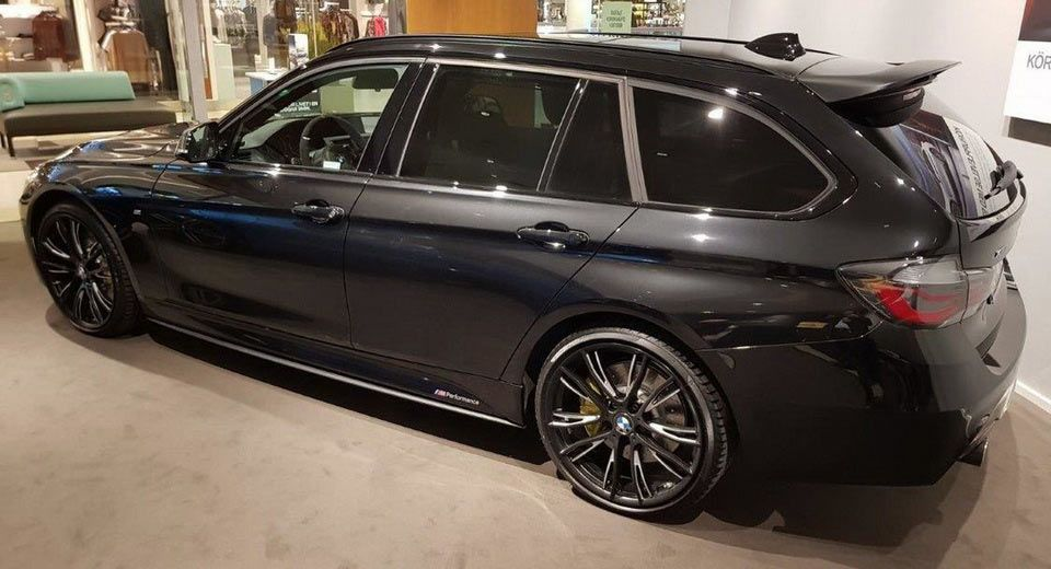 Bmw 340i Touring M Performance Is The Closest Thing To An Estate M3 Carscoops Bmw Bmw Touring Touring