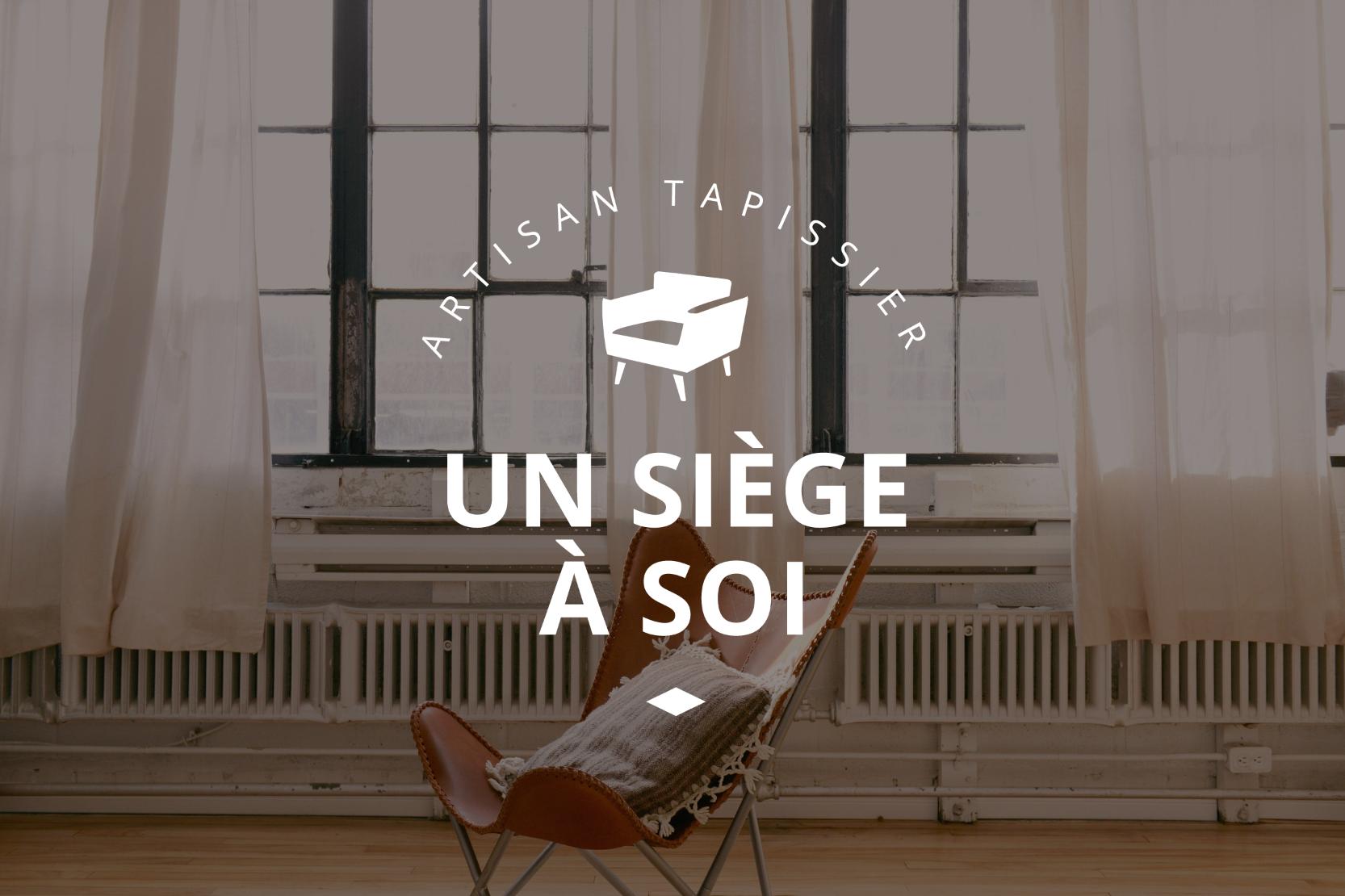 Logo Et Carte De Visite Pour Un Artisan Tapissier Carte De