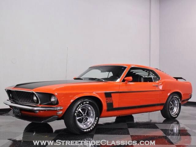 1969 Boss 302 Ford Mustang Mustang Mustang Boss