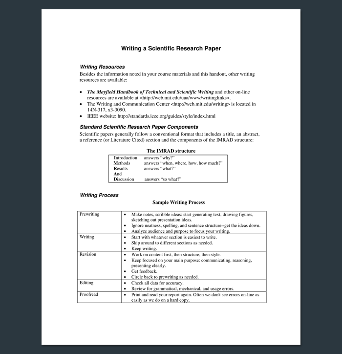How To Outline A Research Paper Research Paper Scientific Writing Research Outline