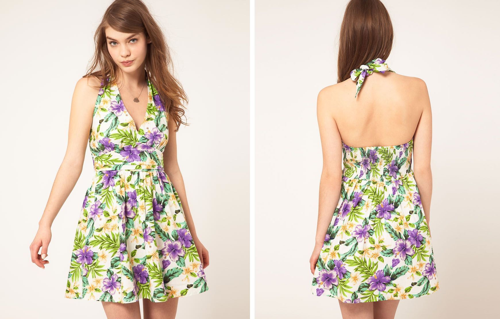Collection Floral Dresses For Women Pictures - Reikian