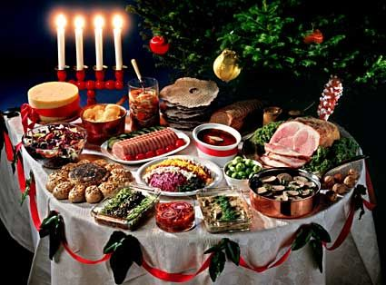 Julbord Many Restaurants In The Larger Cities Of Scandinavia Serve Julbord During The Month Of Decembe Swedish Christmas Food Christmas Food Swedish Christmas