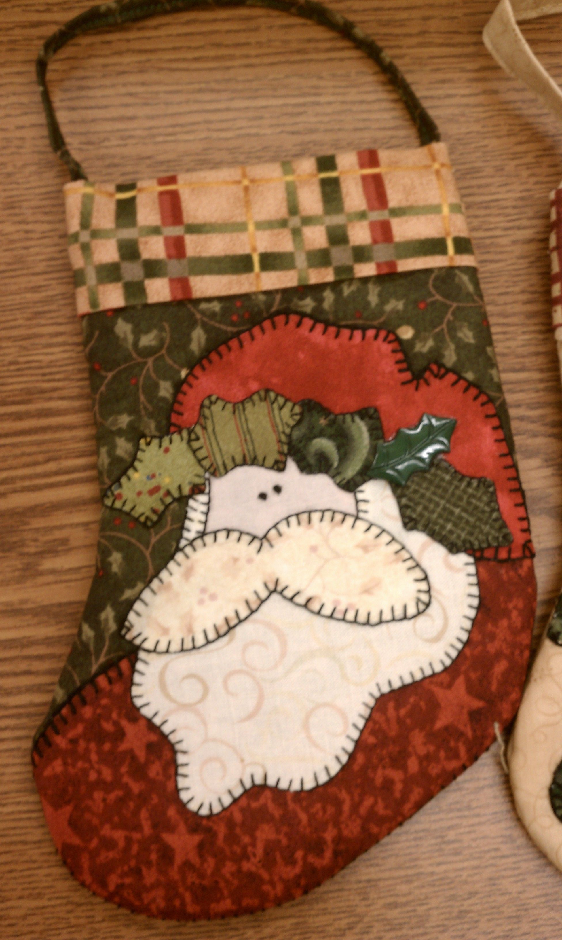 Christmas Stocking Quilts Christmas & Holiday