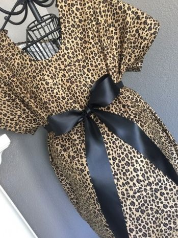 Leopard Print Hospital Gown | Dresses and Gowns Ideas | Pinterest ...